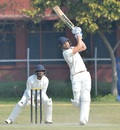Abdul Samad on the charge, Jammu & Kashmir v Karnataka, Ranji Trophy 2019-20 quarter-final, Jammu, February 23, 2020