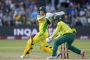 Steven Smith swings the ball leg side, South Africa v Australia, 2nd T20I, Port Elizabeth, February 23, 2020