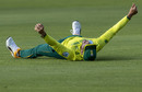 Faf du Plessis held a brilliant catch to dismiss Steven Smith, South Africa v Australia, 2nd T20I, Port Elizabeth, February 23, 2020