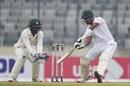 Liton Das cuts one away, Bangladesh v Zimbabwe, Only Test, Dhaka, 3rd day, February 24, 2020