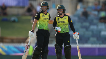 Meg Lanning and Rachael Haynes dug Australia out of a huge hole