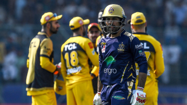 Sarfaraz Ahmed appeared to claim Peshawar had altered the condition of the ball