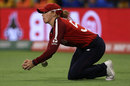 Lauren Winfield misses a catch in the deep, England v South Africa, T20 World Cup, Perth, February 23, 2020