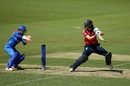 Natalie Sciver remained unfazed by England's early loss of wickets, England v Thailand, Women's T20 World Cup, Canberra, February 26, 2020