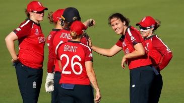 Natalie Sciver followed up her half-century with two wickets