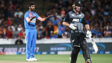Bumrah took a total of six wickets in the five T20Is against New Zealand, and went wicketless in the ODI series that followed