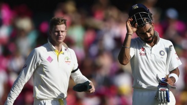 The top spot among Test batsmen has been a Steven Smith v Virat Kohli contest for a while