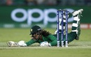 Muneeba Ali dives to complete a run, Pakistan v West Indies, Women's T20 World Cup 2020, Canberra, February 26, 2020