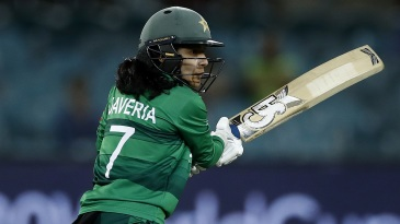 Javeria Khan gave Pakistan a quick start