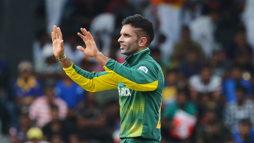 Keshav Maharaj's most recent ODI was in August 2018