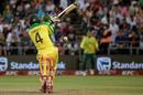 Alex Carey's bails go flying, South Africa v Australia, 3rd T20I, Newlands, February 26, 2020