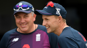Joe Root and Chris Silverwood have their sights set on the 2021-22 Ashes series