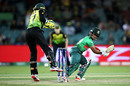 Fargana Hoque cuts one past the wicketkeeper, Australia v Bangladesh, Group A, T20 World Cup, Canberra, February 27, 2020