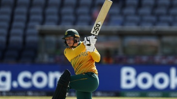 Lizelle Lee became only the second South African woman to hit a T20I century