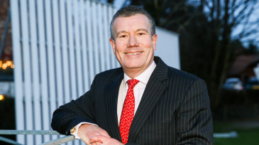 Ian Watmore, the ECB's new chair-elect