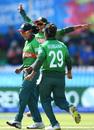 Salma Khatun celebrates the key wicket of Sophie Devine, New Zealand v Bangladesh, Group A, ICC Women's World T20, Melbourne, February 29, 2020