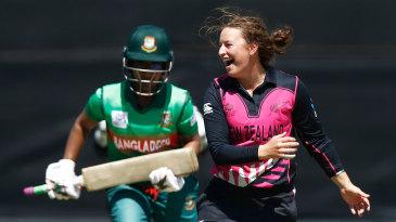 Hayley Jensen helped New Zealand fight back in the field