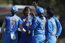 Radha Yadav returned career-best figures of 4 for 23, India v Sri Lanka, Women's T20 World Cup, Melbourne, February 29, 2020