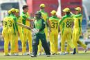 Pat Cummins removed Temba Bavuma, South Africa v Australia, 1st ODI, Paarl, February 29, 2020