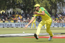Mitchell Starc puts down a catch, South Africa v Australia, 1st ODI, Paarl, February 29, 2020