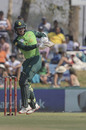 Kyle Verreynne swats into the leg side, South Africa v Australia, 1st ODI, Paarl, February 29, 2020