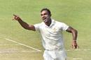 Abhimanyu Mithun celebrates a wicket, Bengal v Karnataka, 2019-20 Ranji Trophy semifinal, 1st day, Kolkata, February 29, 2020