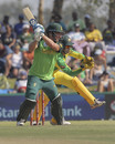 David Miller cuts during his half-century, South Africa v Australia, 1st ODI, Paarl, February 29, 2020