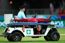 Stafanie Taylor leaves the field injured, England v West Indies, Group B, Women's T20 World Cup, Sydney, March 1, 2020