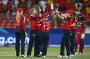 Sophie Ecclestone celebrates another wicket for England, England v West Indies, Group B, Women's T20 World Cup, Sydney, March 1, 2020