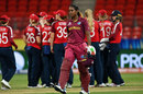 Hayley Matthews leaves the field after her dismissal, England v West Indies, Group B, Women's T20 World Cup, Sydney, March 1, 2020