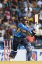 Dhananjaya de Silva goes over the top, Sri Lanka v West Indies, 3rd ODI, Pallekele, March 1, 2020