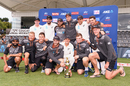 New Zealand with their spoils after the 2-0 win over India, New Zealand v India, 2nd Test, Christchurch, 3rd day, March 2, 2020