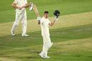 Dan Lawrence celebrates his hundred, Australia A v England Lions, Tour match, MCG, February 22, 2020