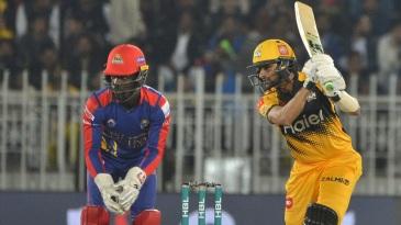 Shoaib Malik top scored for Peshawar Zalmi
