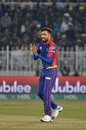 Mohammad Amir celebrates a wicket, Peshawar Zalmi v Karachi Kings, PSL 2020, Rawalpindi, March 2, 2020