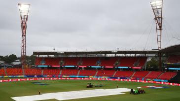 The rain intervened in Sydney