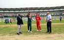 Mashrafe Mortaza and Sean Williams at the toss, Bangladesh v Zimbabwe, 2nd ODI, Sylhet, March 3, 2020