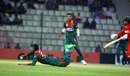 Mehidy Hasan Miraz runs Brendan Taylor out, Bangladesh v Zimbabwe, 2nd ODI, Sylhet, March 3, 2020