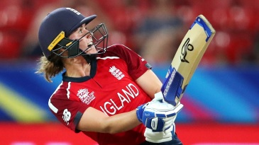 Half of Natalie Sciver's eight T20I fifties have come in her last six innings