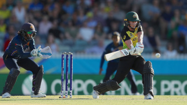 If Sri Lanka had a review to spare, they would have had match-winner Meg Lanning out in the eighth over