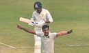 Ishan Porel celebrates yet another strike, Bengal v Karnataka, Ranji Trophy 2019-20, semi-final, Kolkata, 2nd day, March 1, 2020