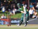 Jon-Jon Smuts heaves through midwicket, Australia v South Africa, 2nd ODI, Bloemfontein, March 4, 2020