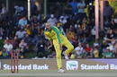 Ashton Agar gives one some air, Australia v South Africa, 2nd ODI, Bloemfontein, March 4, 2020