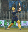 Sarfaraz Ahmed missed a slower ball from Wahab Riaz, Peshawar Zalmi v Quetta Gladiators, PSL 2020, Rawalpindi, March 5, 2020