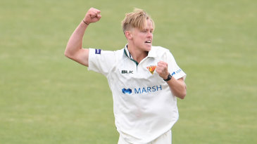 Nathan Ellis has enjoyed a fine start to his Sheffield Shield career
