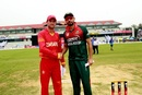 Mashrafe Mortaza and Sean Williams at the toss, Bangladesh v Zimbabwe, 3rd ODI, Sylhet, March 6, 2020