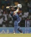 Dasun Shanaka played a useful cameo for Sri Lanka, Sri Lanka v West Indies, 2nd T20I, Pallekele, March 6, 2020