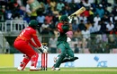 Liton Das cuts one, Bangladesh v Zimbabwe, 3rd ODI, Sylhet, March 6, 2020