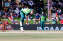 Anrich Nortje sends down another delivery, Australia v South Africa, 2nd ODI, Bloemfontein, March 4, 2020
