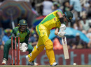 D'Arcy Short steps out to drive, Australia v South Africa, 3rd ODI, Potchefstroom, March 7, 2020